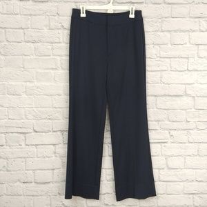 AYR | Navy Wide Trouser Dress Pants